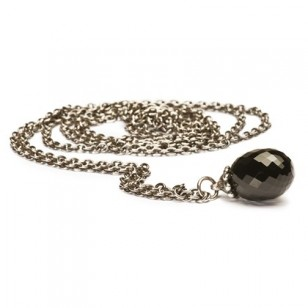 Fantasy Necklace with Black Onyx, Sterling Silver